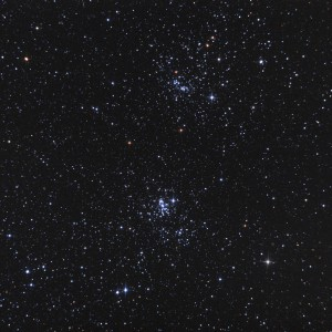Double Cluster Colors
